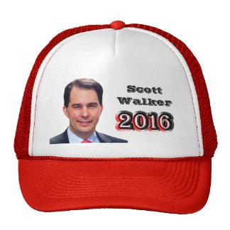 Scott Walker 2016 Trucker Hat