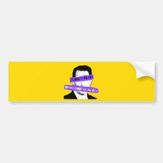 Scott Walker Demagoguery in the USA Bumper Sticker