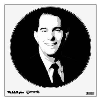 Scott Walker Face Room Graphics