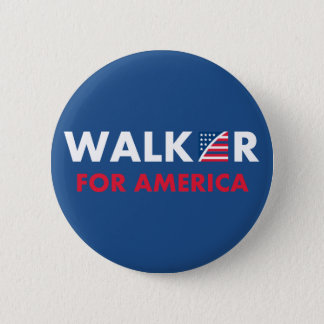 Scott Walker For America Button