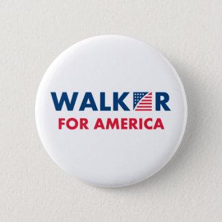 Scott Walker For America Pinback Button