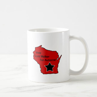 Scott Walker for autocrat Coffee Mug