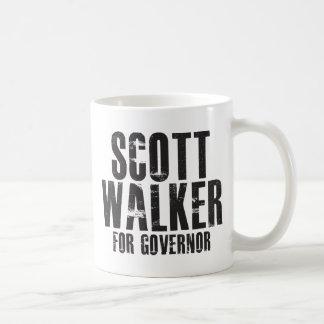 Scott Walker For Governor 2010 Classic White Coffee Mug