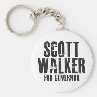 Scott Walker For Governor 2010 Keychain