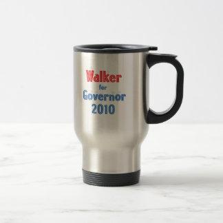 Scott Walker for Governor 2010 Star Design 15 Oz Stainless Steel Travel Mug