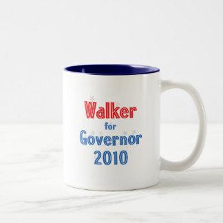 Scott Walker for Governor 2010 Star Design Two-Tone Coffee Mug