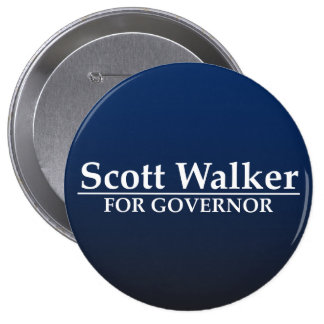 Scott Walker for Governor Button