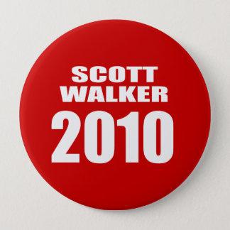 SCOTT WALKER FOR GOVERNOR PINBACK BUTTON
