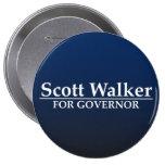 Scott Walker for Governor Pins