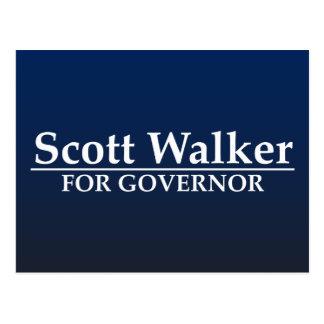 Scott Walker for Governor Postcard