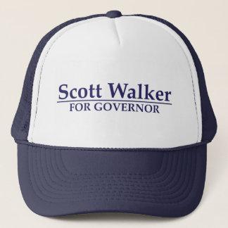 Scott Walker for Governor Trucker Hat
