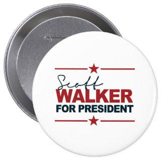 Scott Walker For President 2016 Signature Buttons