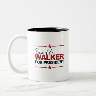 Scott Walker For President 2016 Signature Mug