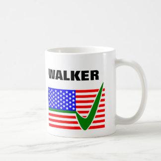 Scott Walker for President 2016 USA Flag Classic White Coffee Mug