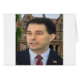 Scott Walker For President! Card