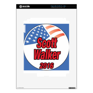 Scott Walker for president in 2016 Decals For The iPad 2