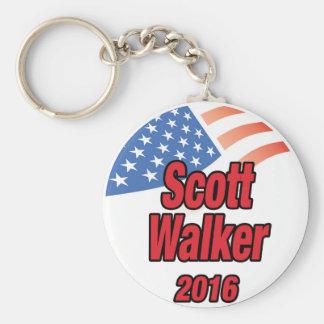 Scott Walker for president in 2016 Keychain