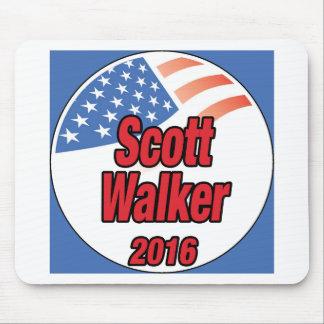 Scott Walker for president in 2016 Mouse Pad