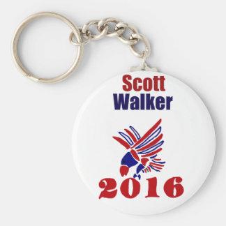 Scott Walker for President Political Art Keychain