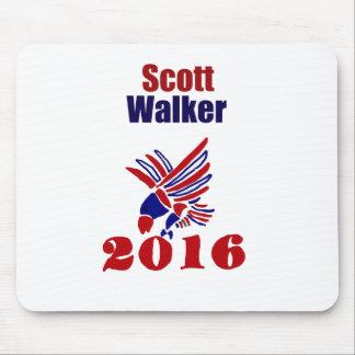 Scott Walker for President Political Art Mouse Pad