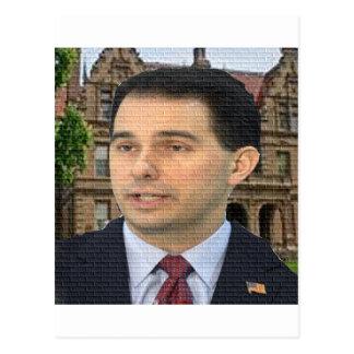 Scott Walker For President! Postcard