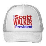 Scott Walker for President Truckers Hat