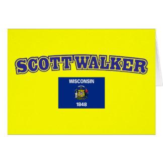 Scott Walker for Wisconsin Card