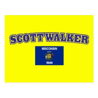 Scott Walker for Wisconsin Postcard