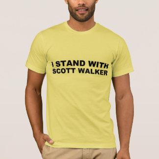 Scott Walker I Stand T-Shirt