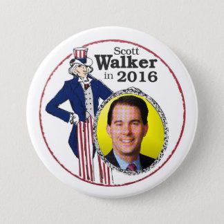 Scott Walker in 2016 Pinback Button