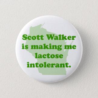 Scott Walker intolerance Button