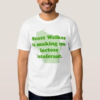 Scott Walker intolerance Shirt