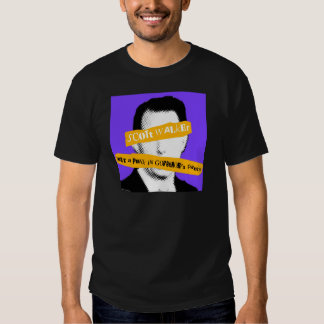 Scott Walker Just a Punk in Governor's Pants T-shirt