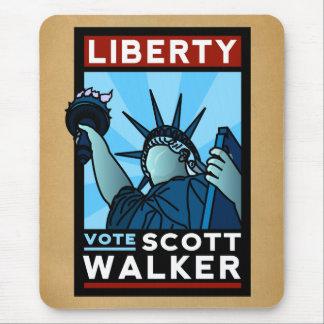 Scott Walker Liberty Mouse Pad