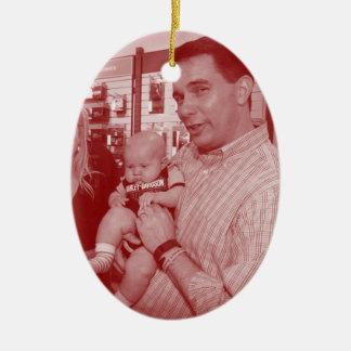 Scott Walker: Pro-Life Double-Sided Oval Ceramic Christmas Ornament