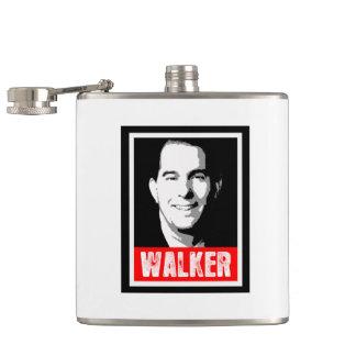 Scott Walker Street Art Hip Flask