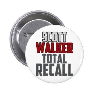 Scott Walker - Total Recall Pinback Button