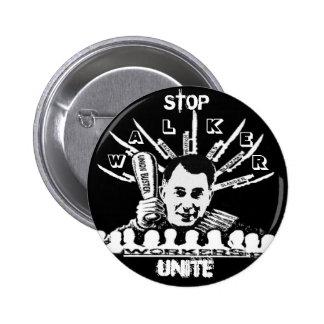 Scott Walker Union Buster button