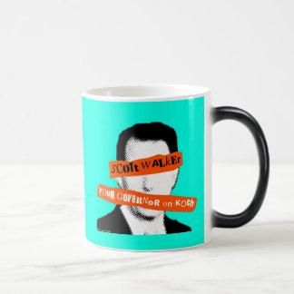 Scott Walker Your Governor on Koch 11 Oz Magic Heat Color-Changing Coffee Mug