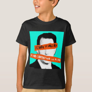 Scott Walker Your Governor on Koch T-Shirt