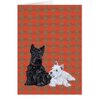 Scottie Adult Westie Puppy Cards