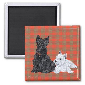 Scottie Adult Westie Puppy Fridge Magnet