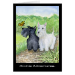 Scottie Adventures greeting card