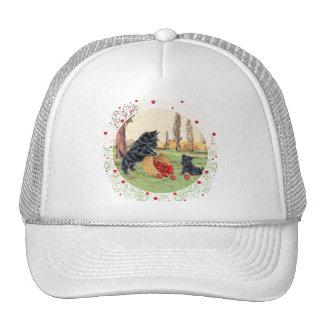 Scottie and Pup Apple Harvest Trucker Hat