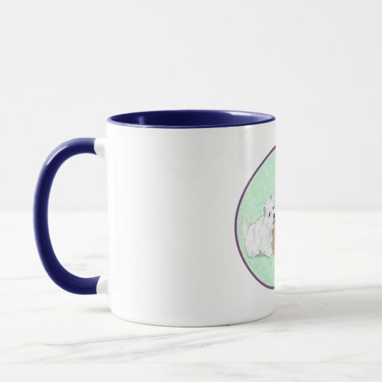 Scottie and Westie Grape Harvest Mug