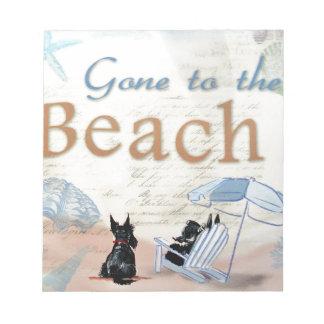 Scottie Beach Notepad