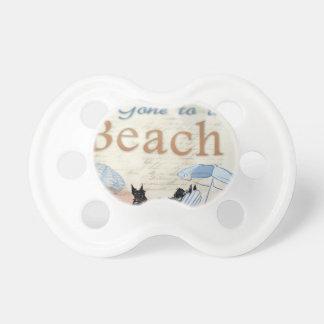 Scottie Beach Baby Pacifier