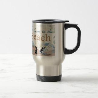 Scottie Beach Travel Mug