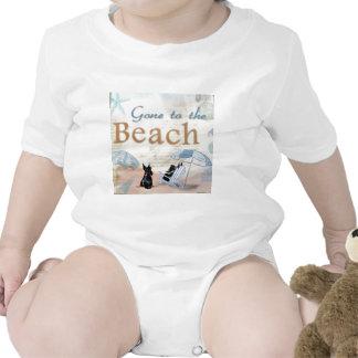 Scottie Beach Baby Bodysuit