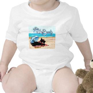 Scottie Beach Baby Bodysuits